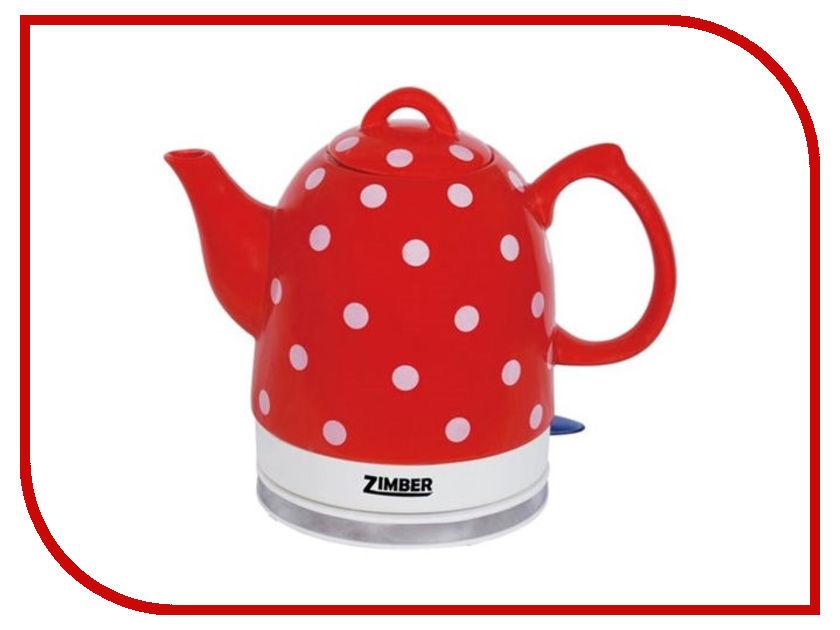 Чайник Zimber ZM-10752 Red чайник zimber zm 11030