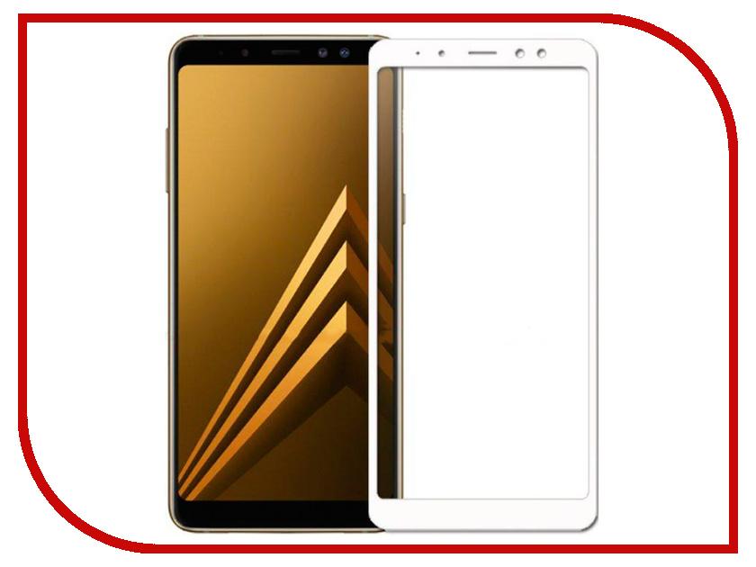 Аксессуар Защитное стекло для Samsung Galaxy A5 2018 / А8 Snoogy Full Glass 0.33mm White Sn-TG-FG-SA5/2018/А8-wht