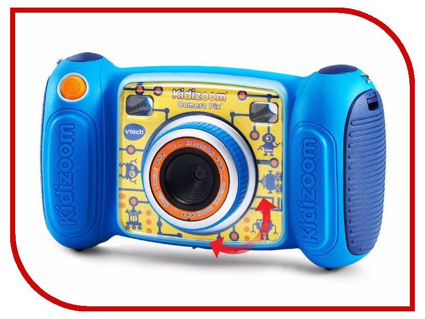 Игрушка Vtech Kidizoom Pix Blue 80-193600 pixhawk px4 autopilot pix 2 4 8 flight controller safety switch buzzer 8n gps mini osd i2c ppm 433mhz 433 telemetry