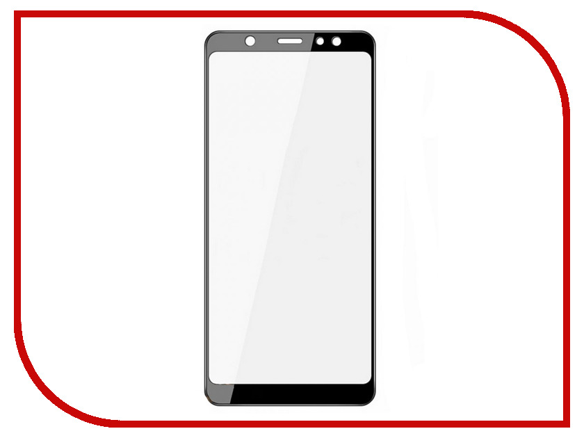 Аксессуар Защитное стекло для Samsung Galaxy A6 2018 Snoogy Full Glass 0.33mm Black Sn-TG-FG-SA6/2018/-blk аксессуар защитное стекло для samsung galaxy a6 plus 2018 snoogy full glass 0 33mm black sn tg fg sa6plus 2018 blk