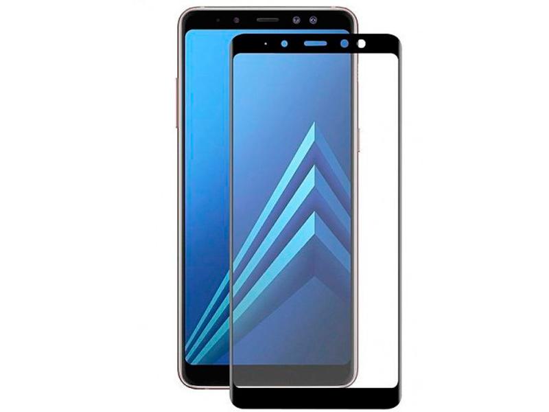 Аксессуар Защитное стекло Snoogy для Samsung Galaxy A7 2018 / А8 Plus Full Glass 0.33mm Black Sn-TG-FG-SA7/2018/А8plus -blk камера видеонаблюдения hikvision ds 2ce56d0t mmpk 2 8 2 8мм hd tvi цветная