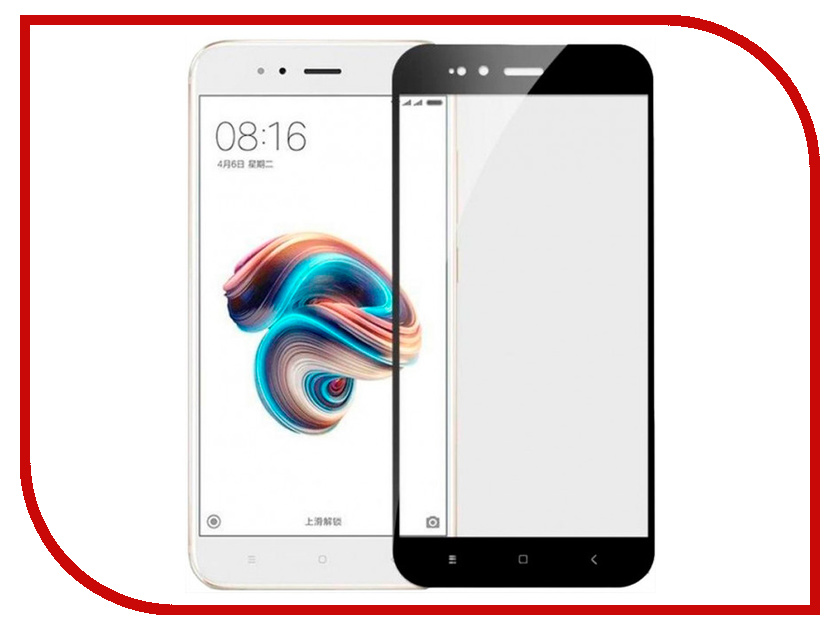 Аксессуар Защитное стекло для Xiaomi Mi5x / A1 Snoogy Full Glass Black Sn-TG-FG-Xia-Mi5x/a1-blk аксессуар защитное стекло для samsung galaxy a6 plus 2018 snoogy full glass 0 33mm black sn tg fg sa6plus 2018 blk