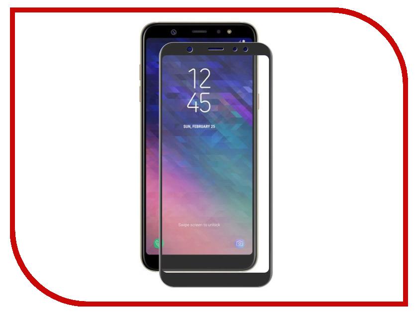 Аксессуар Защитное стекло для Samsung Galaxy A6 2018 Ubik 3D Black 3192 аксессуар защитное стекло для samsung galaxy a6 plus 2018 ubik 3d black 3195