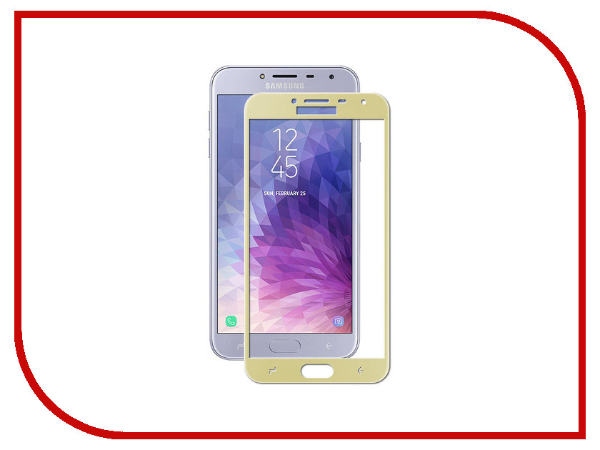Аксессуар Защитное стекло для Samsung Galaxy j4 2018 Snoogy Full Glass 0.33mm Gold Sn-TG-FG-SM-j4/2018/- gold аксессуар защитное стекло для samsung galaxy a6 plus 2018 snoogy full glass 0 33mm black sn tg fg sa6plus 2018 blk