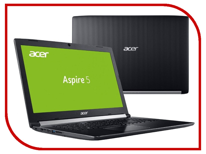 Ноутбук Acer Aspire A517-51G-57HA Black NX.GSXER.004 (Intel Core i5-8250U 1.6 GHz/12288Mb/1000Gb/nVidia GeForce MX150 2048Mb/Wi-Fi/Bluetooth/Cam/17.3/1920x1080/Windows 10 Home 64-bit) ноутбук acer aspire a517 51g 810t nx gsxer 006 black intel core i7 8550u 1 8 ghz 12288mb 1000gb 128gb ssd nvidia geforce mx150 2048mb wi fi cam 17 3 1920x1080 windows 10 64 bit