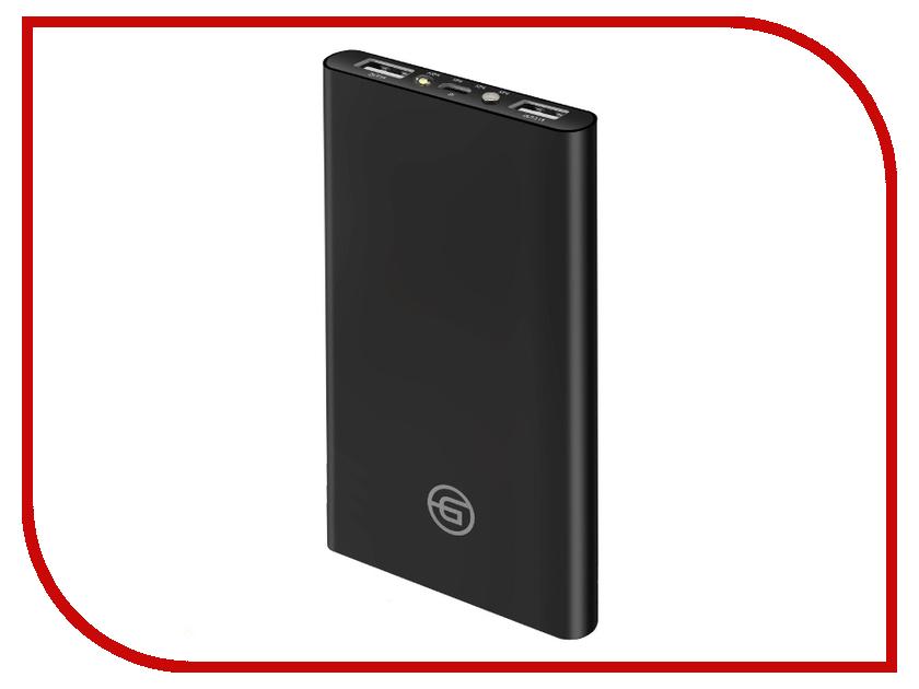 Аккумулятор Ginzzu Power Bank 15000mAh Black GB-3915B