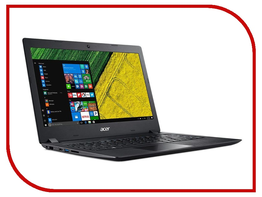 Ноутбук Acer Aspire A315-21-434Z Black NX.GNVER.039 (AMD A4-9125 2.3 GHz/4096Mb/128Gb SSD/AMD Radeon R3/Wi-Fi/Bluetooth/Cam/15.6/1366x768/Windows 10) new 15 6 lcd touch screen digitizer full assembly display b156xtn03 1 for acer aspire v5 571 v5 571p v5 571pg