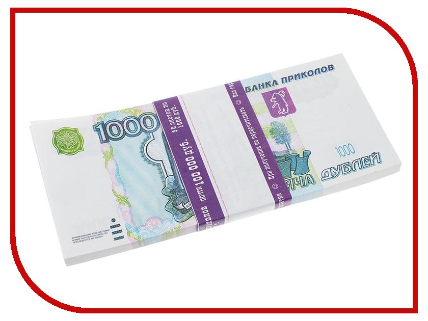 Блокнот СмеХторг Пачка 1000 рублей подарочная карта xbox 1000 рублей