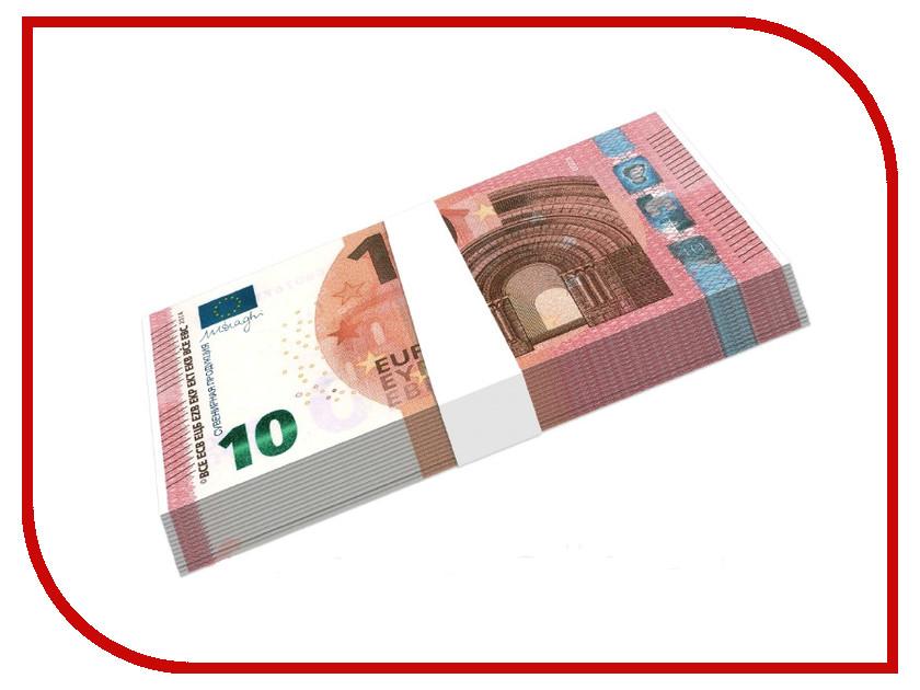 Шуточные купюры СмеХторг бабки 10 евро пачка 100 шт