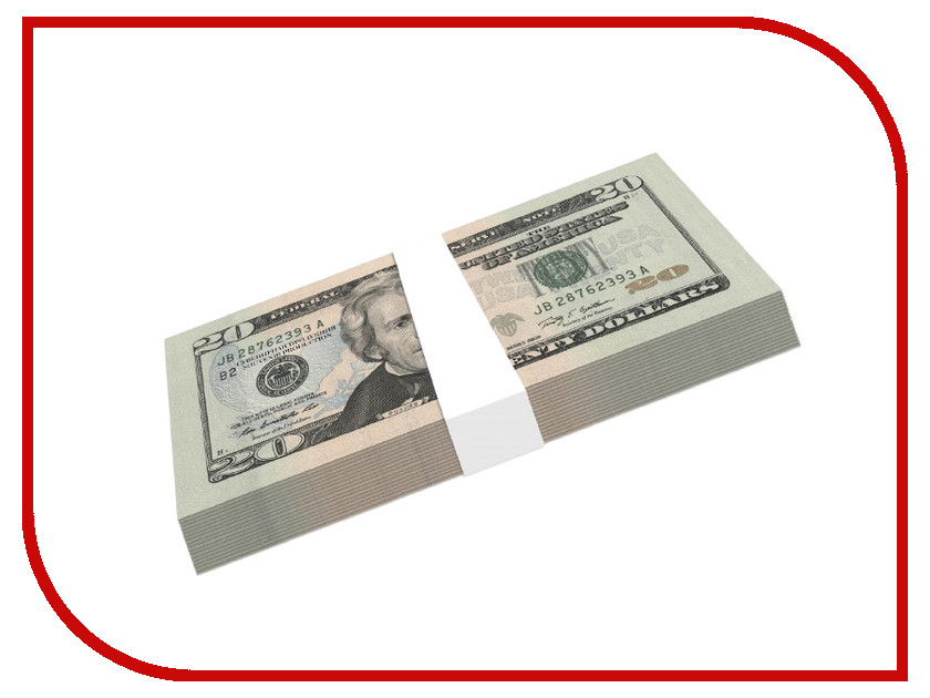 Шуточные купюры СмеХторг бабки 20 баксов пачка 100 шт
