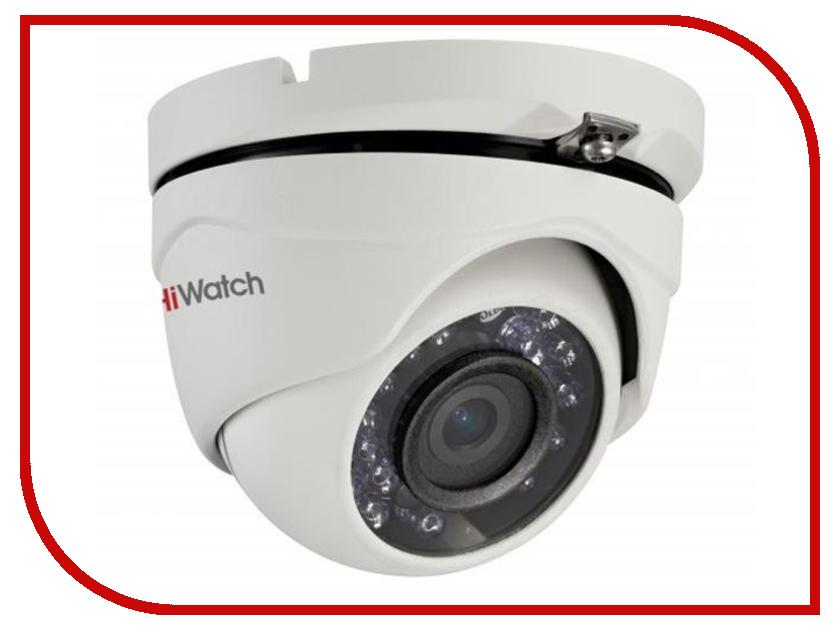 Аналоговая камера HiWatch DS-T103 6mm аналоговая камера hiwatch ds t201 3 6mm