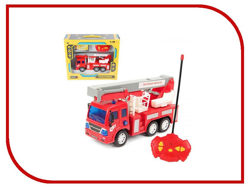 Игрушка Drift Грузовик-подъёмник пожарный 70376 игрушка drift подъёмник строительный 70396