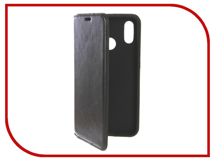 Аксессуар Чехол для Huawei P20 Lite Gurdini Premium Black 906433 ecostyle shell чехол флип для huawei ascend d2 black