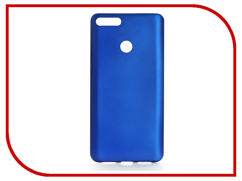 Аксессуар Чехол для Huawei Honor 7A Gurdini Soft Touch Blue 906397