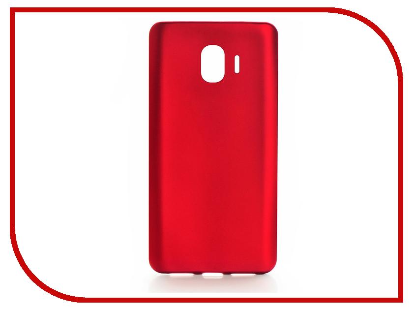 Аксессуар Чехол для Samsung Galaxy J2 2018 Gurdini Soft Touch Red 906000 аксессуар чехол для samsung galaxy a8 plus 2018 gurdini soft touch silicone black 905724