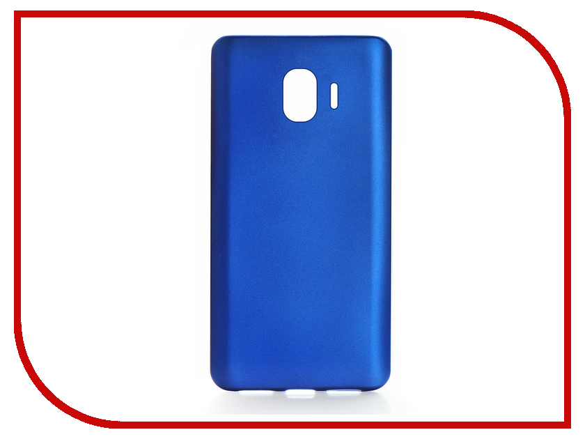 Аксессуар Чехол для Samsung Galaxy J2 2018 Gurdini Soft Touch Blue 906001 buildreamen2 waterproof car covers sun snow rain hail scratch dust protection cover for mercedes benz gle 350 400 450 300 320
