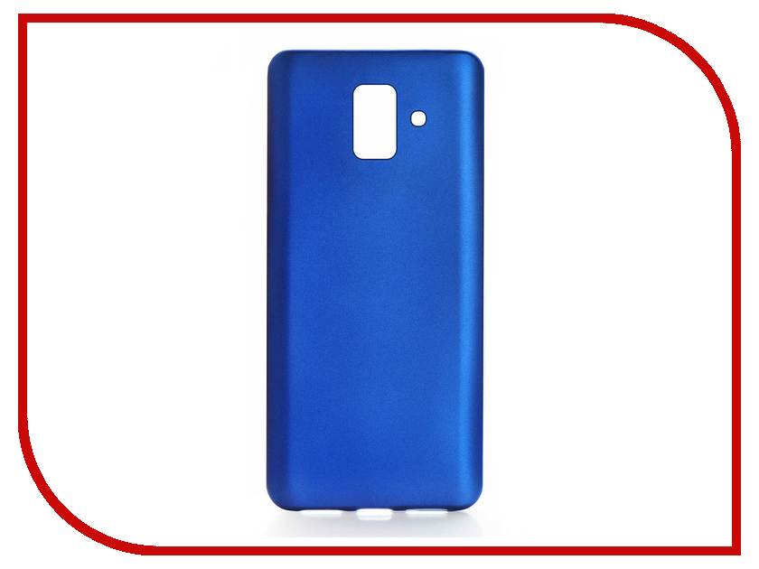 Аксессуар Чехол для Samsung Galaxy A6 2018 Gurdini Soft Touch Blue 906384 top fashion real 2 pcs white blue new lcd display touch screen digitizer assembly for samsung e7 e700 free shipping