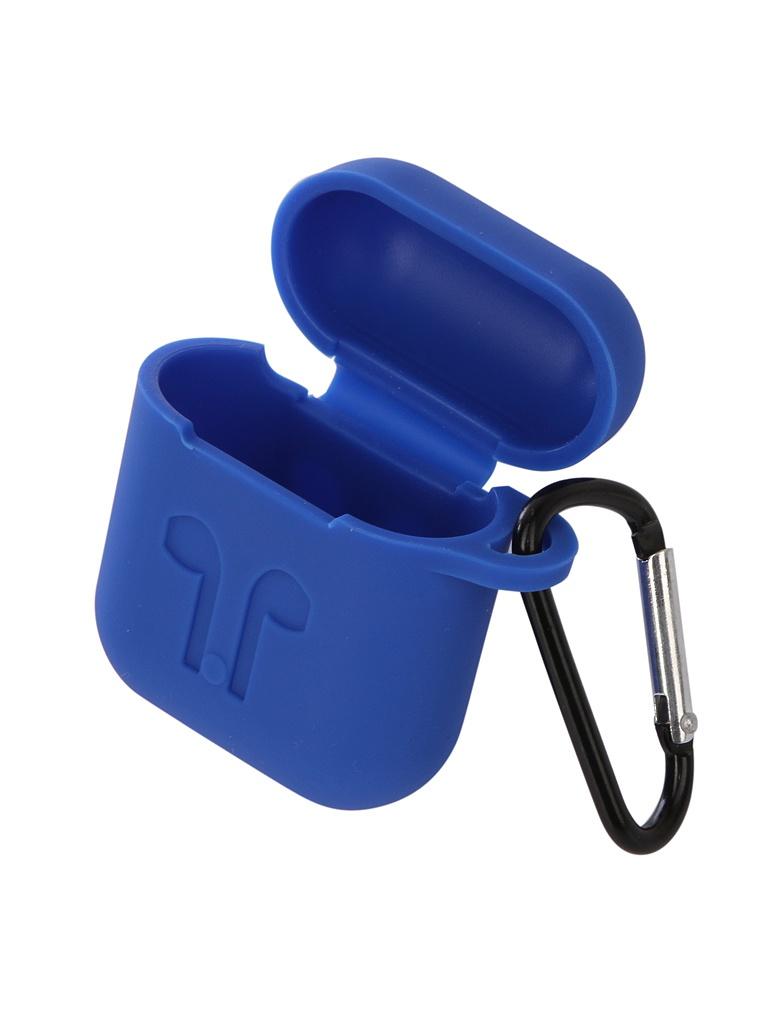 Аксессуар Чехол Gurdini Soft Touch Silicone для APPLE Airpods Blue 906250 аксессуар чехол gurdini soft touch silicone для apple airpods turquoise 906289