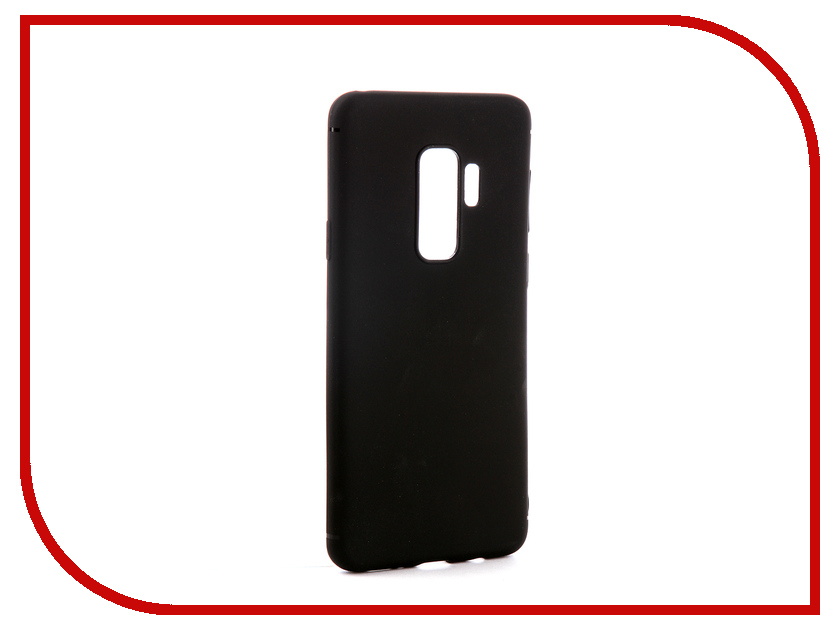 Аксессуар Чехол-накладка для Samsung Galaxy S9 Plus Gecko Silicone Black S-GESKA-SAM-S9-Plus-BL