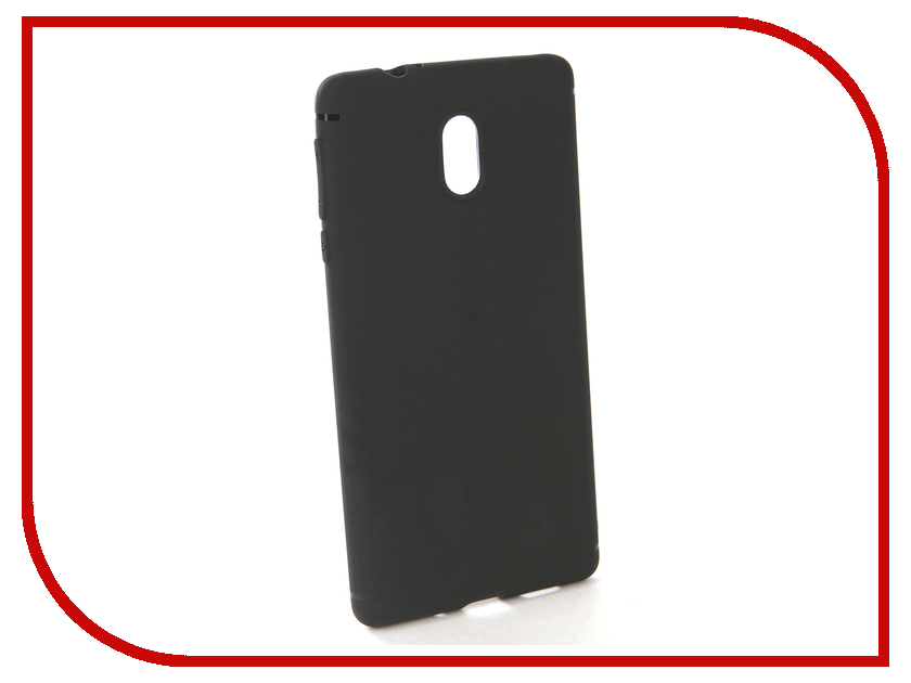 Аксессуар Чехол-накладка для Nokia 3 Gecko Silicone Black S-GESKA-NOK3-BL new black for nokia lumia 630 635 lcd display touch screen with digitizer assembly replacement parts free shipping with tools