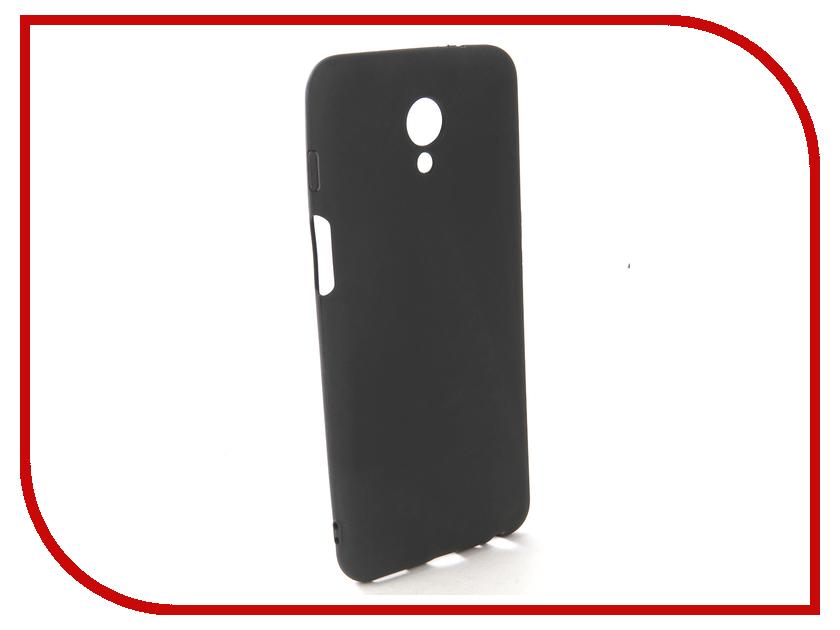 Аксессуар Чехол-накладка для Meizu M6s Gecko Silicone Black S-GESKA-MEIZU-M6s-BL meizu смартфон meizu m6s 64gb gold золотой