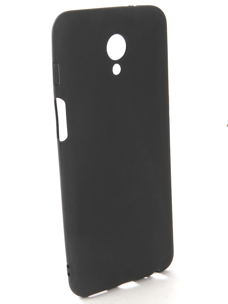 Аксессуар Чехол-накладка Gecko для Meizu M6s Silicone Black S-GESKA-MEIZU-M6s-BL аксессуар чехол книжка для meizu m6s red line unit black ут000014557