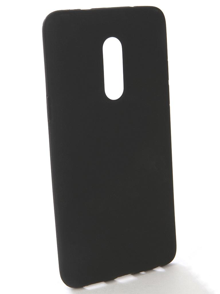 Аксессуар Чехол-накладка Gecko для Meizu 15 Plus Silicone Black S-GESKA-MEIZU15-plus-BL чехол для meizu u10 gecko flip красный