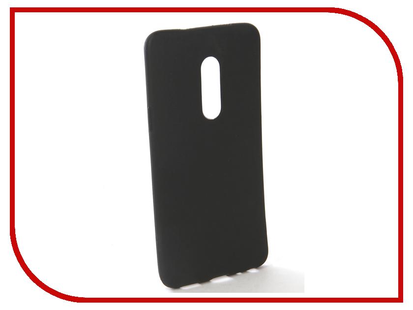 Аксессуар Чехол-накладка для Meizu 15 Gecko Silicone Black S-GESKA-MEIZU15-BL