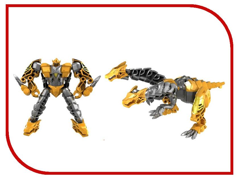 Игрушка Город игр Робот трансформер Дракон М Yellow GI-6684