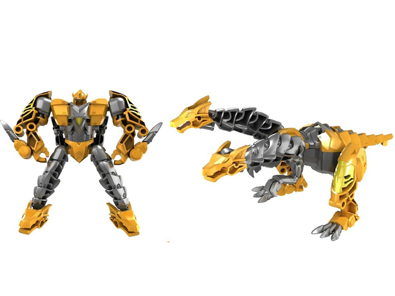 Игрушка Город игр Робот трансформер Дракон М Yellow GI-6684 цена и фото