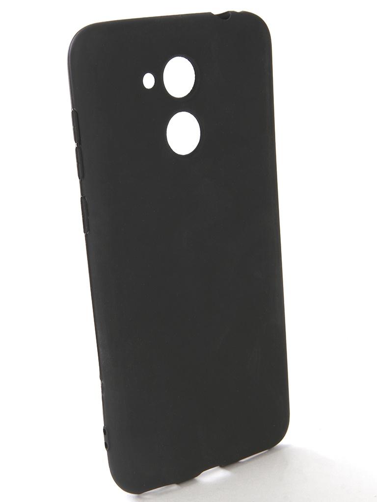 Аксессуар Чехол-накладка Gecko для Honor V9 Play Silicone Black S-GESKA-HAW-HONV9-Play-BL чехол для huawei honor 8 gecko gecko силиконовая накладка прозрачно глянцевая белая