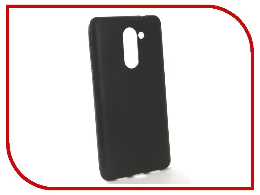 Аксессуар Чехол-накладка для Huawei Honor 6X Gecko Silicone Black S-GESKA-HAW-HON-6x-BL роскошный кошелек для huawei honor 6x высококачественная кожаная флип обложка kickstand анти шок полная защита для huawei honor 6x