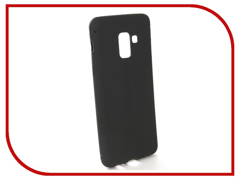 Аксессуар Чехол-накладка для Samsung Galaxy A5 2018 Gecko Silicone Black S-GESKA-SAM-A5-2018-BL аксессуар чехол для samsung galaxy a5 2017 innovation silicone yellow 10644