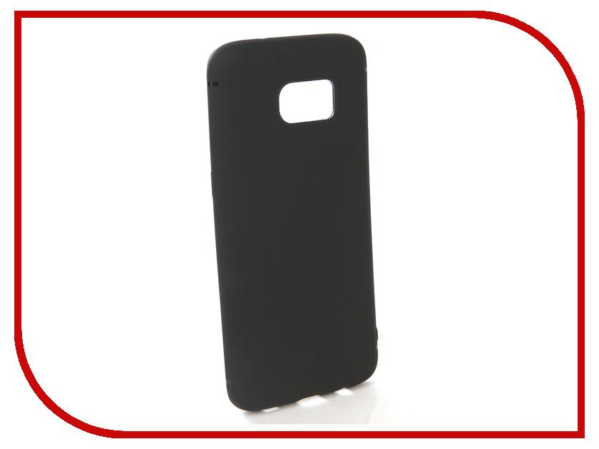 Аксессуар Чехол-накладка для Samsung Galaxy S7 Edge Gecko Silicone Black S-GESKA-SAM-S7-Edge-BL