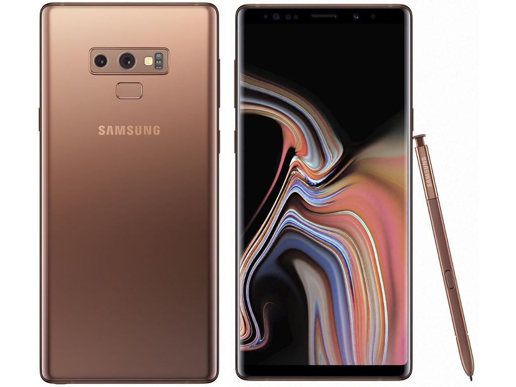 Сотовый телефон Samsung Galaxy Note 9 512GB Brown denim fabric style protective pu leather case for samsung galaxy note 3 blue brown