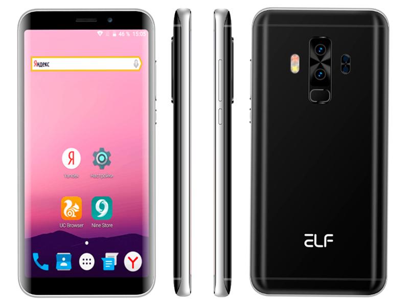 цена на Сотовый телефон Ark Benefit Elf S8 Black
