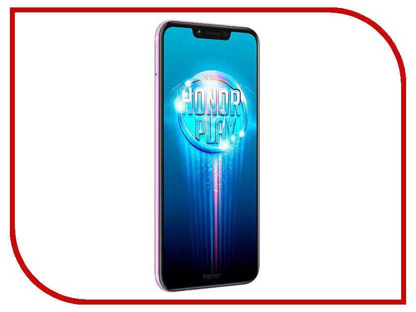 Сотовый телефон Honor Play 4/64GB Purple сотовый телефон archos sense 55dc 503438
