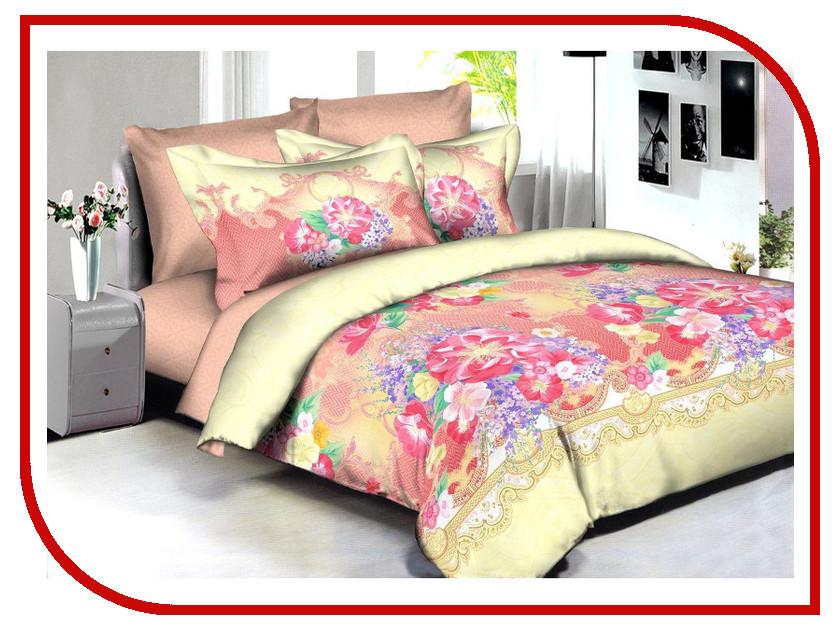 Постельное белье Buenas Noches BZ Jakarta Комплект 2 спальный Сатин 86580 постельное белье estro c52 комплект 2 спальный сатин