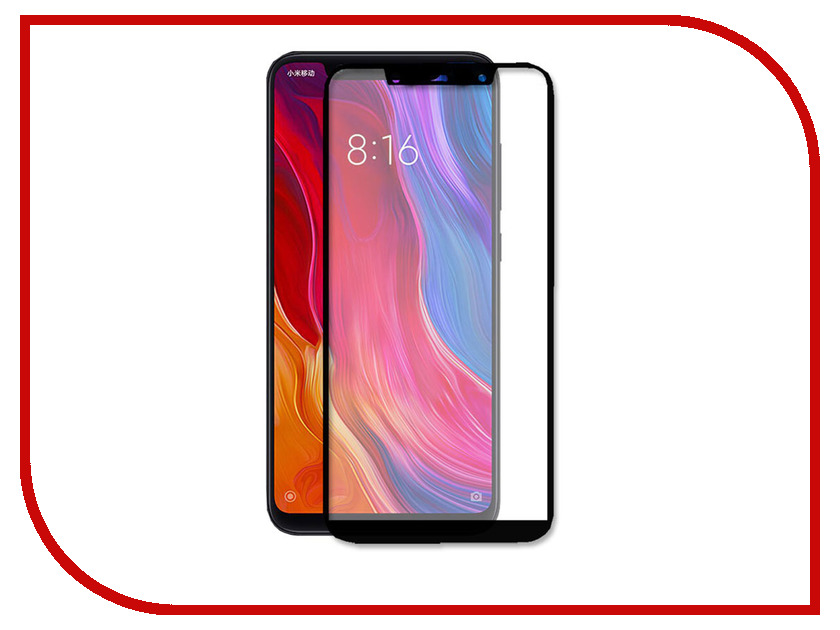 Аксессуар Защитное стекло для Xiaomi Mi8 SE Ainy Full Screen Cover 0.33mm Black AF-X1222A full lcd display with touch screen digitizer assembly for highscreen boost 2 se for innos d10 9169 free shipping