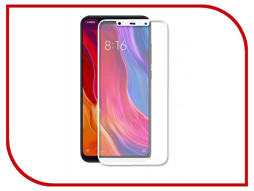 Аксессуар Защитное стекло для Xiaomi Mi8 SE Ainy Full Screen Cover 0.25mm White с полноклеевой поверхностью AF-X576B этажерка модульная с 2 ящиками из массива дуба edgar