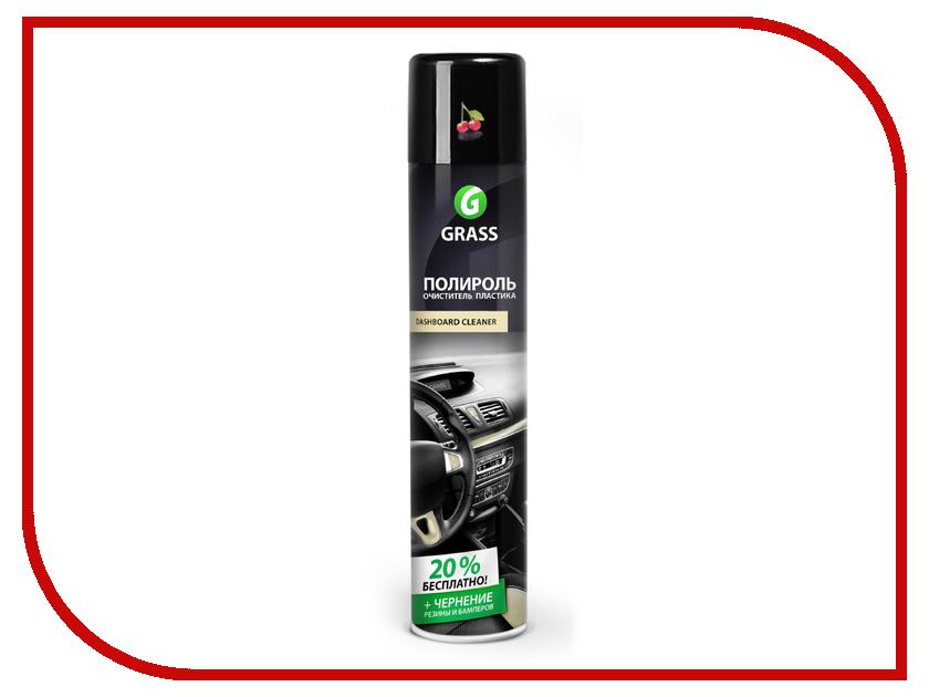 Полироль очиститель пластика Grass Dashboard Cleaner вишня 750ml УТ-М0000365 цена 2017