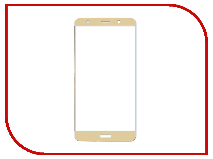 Аксессуар Защитное стекло для Huawei Ascend Mate 10 Pro Ainy Full Screen Cover 0.25mm Gold с полноклеевой поверхностью AF-HB2849 original for huawei ascend p6 front facing small camera cam lens flex cable replacement spare parts tested good before shipping
