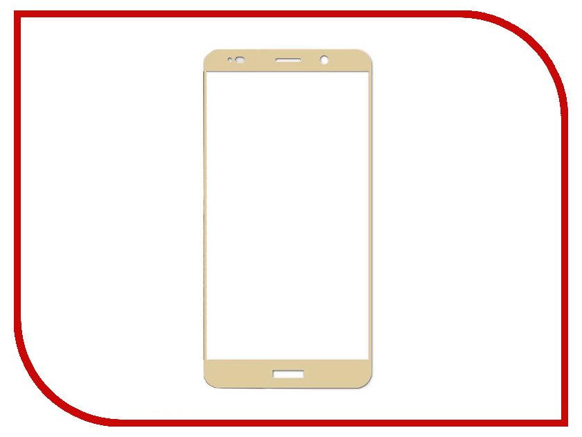 Аксессуар Защитное стекло для Huawei Ascend Mate 10 Ainy Full Screen Cover 0.25mm Gold с полноклеевой поверхностью AF-HB11929 original for huawei ascend p6 front facing small camera cam lens flex cable replacement spare parts tested good before shipping