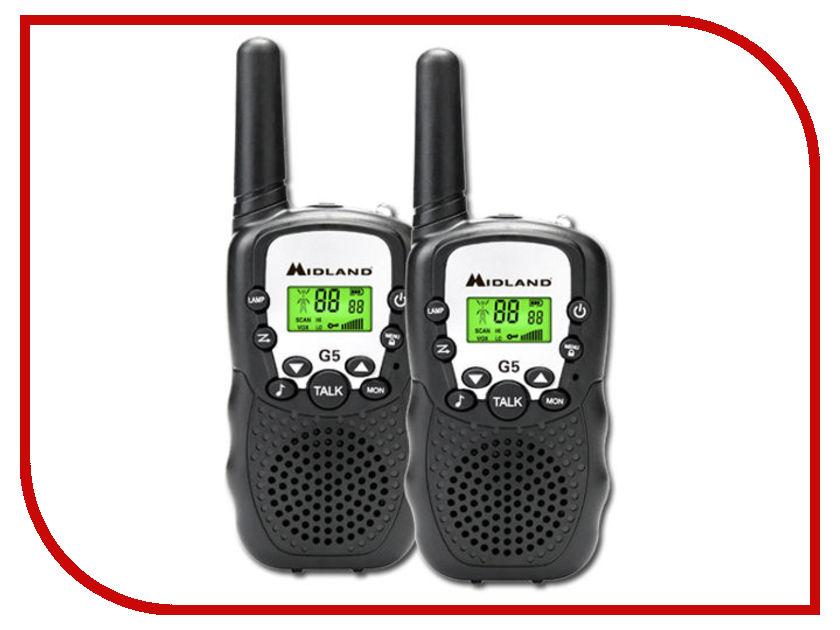 Рация Midland G5 Black радиостанция midland g21 black
