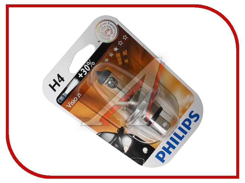 Лампа Philips Premium H4 60/55W +30% 12342PRB1<br>