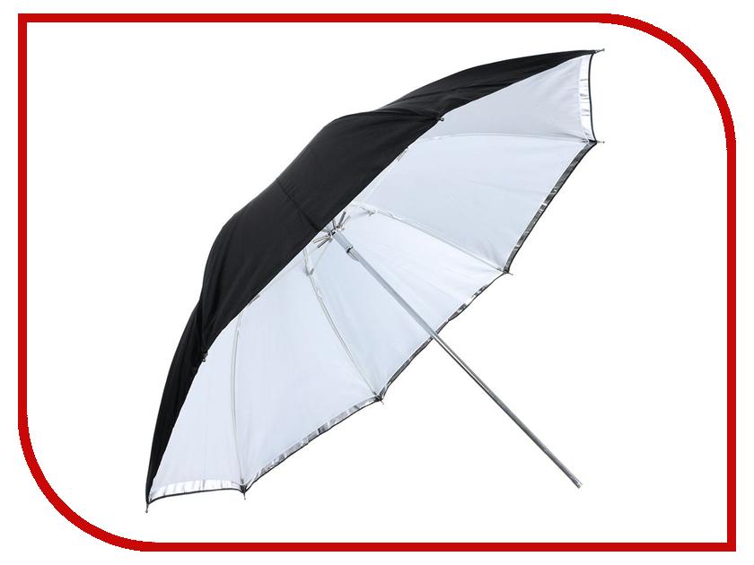 Зонт Falcon Eyes URK-60TSB1 Transparent-Silver-Black<br>