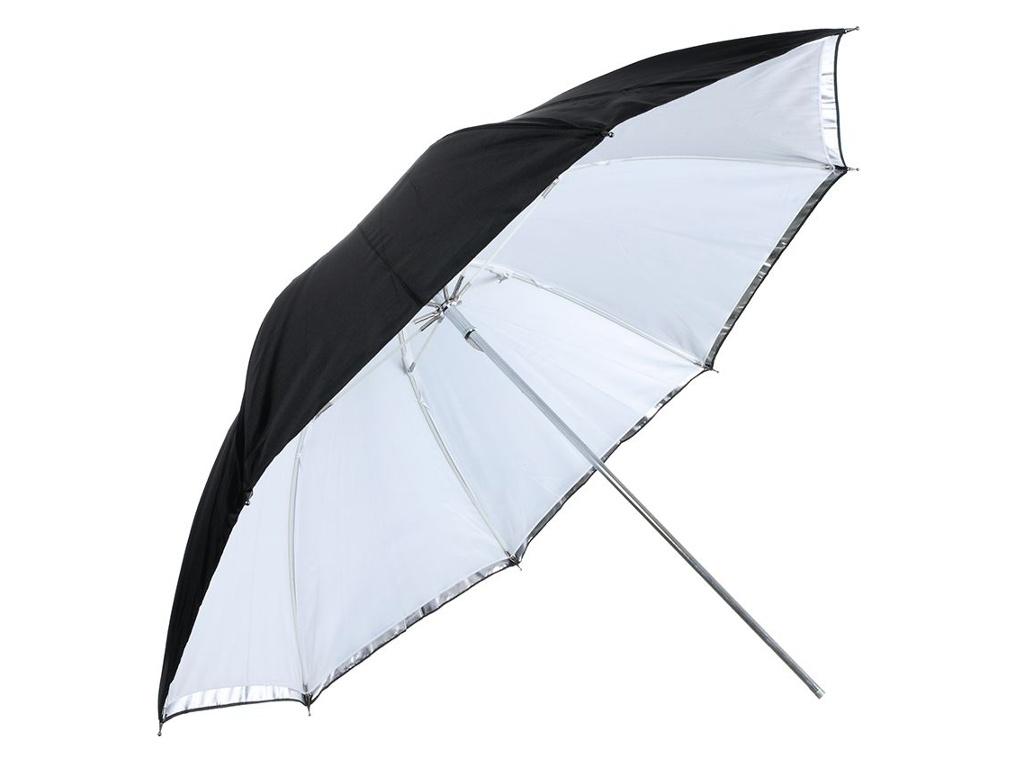 Зонт Falcon Eyes URK-60TSB1 Transparent-Silver-Black