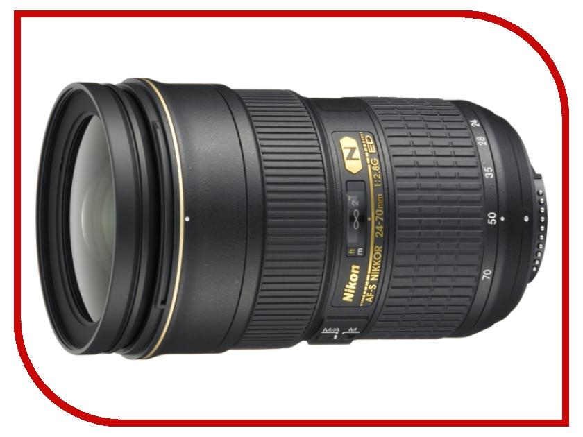 Объектив Nikon 24-70mm f/2.8G ED AF-S Nikkor free shipping new and original for niko lens af s nikkor 70 200mm f 2 8g ed vr 70 200 protector ring unit 1c999 172