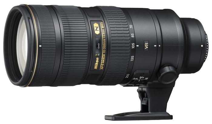 Объектив Nikon 70-200mm f/2.8G ED AF-S VR II Zoom-Nikkor<br>