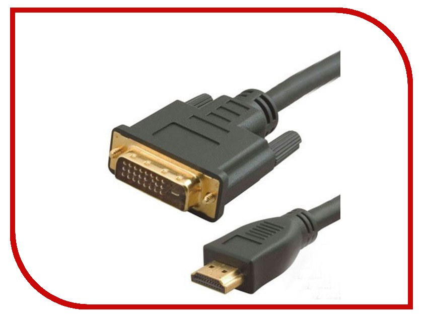 Аксессуар 5bites HDMI 19M / DVI 25M 2m APC-073-020